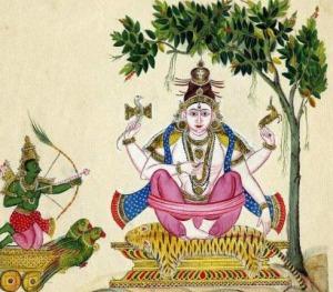 Kamadahanam-by-Lord-Shiva
